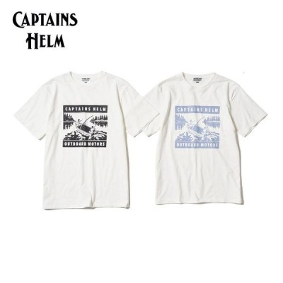 CAPTAINS HELM/キャプテンズヘルム #CAPTAIN'S LIFE TEE -FISHING/Tシャツ・2color