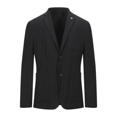 カルバン クライン CALVIN KLEIN テーラードジャケット ブラック 50 ポリエステル 67% / レーヨン 29% / ポリウレタン 4