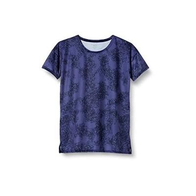 [デサント] グラフィックTシャツ 吸汗 ストレッチ DMWNJA56 レディース NV L