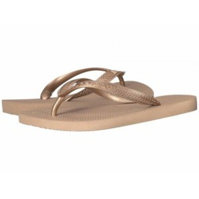 Havaianas ハワイアナス レディース 女性用 シューズ 靴 サンダル Top Tiras Flip-Flops Rose Gold【送料無料】
