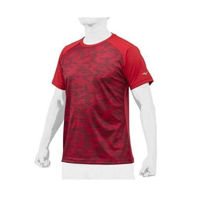 MIZUNO(ミズノ) 野球 半袖Tシャツ KUGEKI昇華Tシャツ メンズ LLメンズ(O) レッド