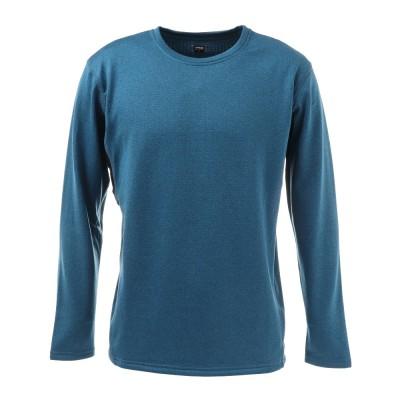 PGスノーボードGRID WARM GEAR クルーネックシャツ 860PG0JY4137 BLUブルー