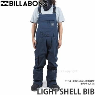 21model ビラボン LIGHT SHELL BIB カラー:NVY