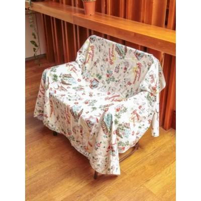 ハワイアン マップ ハワイ柄 タペストリー 寝具 ソファーカバー ハワイアン雑貨 ハワイアンインテリア ハワイ 西海岸風 ビーチハウス カリフォルニア
