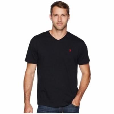 ラルフ ローレン Polo Ralph Lauren メンズ Tシャツ Vネック トップス Classic V-Neck T-Shirt RL Black