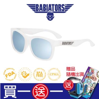 【美國Babiators】航海員系列嬰幼兒太陽眼鏡-藍色冰河 (偏光鏡片) 0-10歲