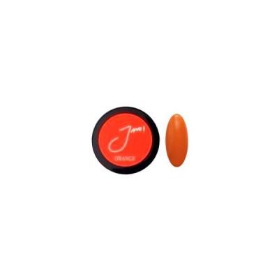 LED、UV、両対応!一度塗りで驚きの発色!扱いやすく、アートに最適な◆Joeun 2way カラージェル◆カラー:オレンジ