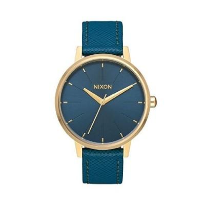 ニクソンa108-2816 Kensingtonレザーレディース腕時計Mallard 37?mmステンレススチール
