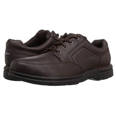 ロックポート Eureka Plus Mudguard メンズ スニーカー 靴 シューズ Dark Brown Nubuck