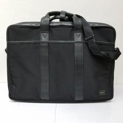 PORTER ポーター ボストンバッグ ボストンバッグ Traveling Bag レザー&ナイロン 2WAY ボストンバッグ ビジネス バッグ 横幅:43cm、縦:31cm、 10003921