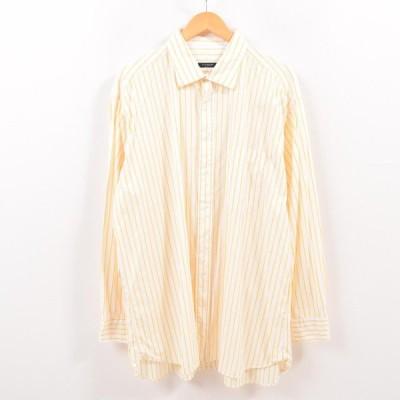 バーバリー 長袖 コットンストライプシャツ /wbg9624