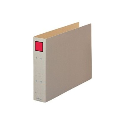 (まとめ) キングジム 保存ファイル B4ヨコ 500枚収容 背幅65mm ピクト赤 4395E 1冊 【×10セット】