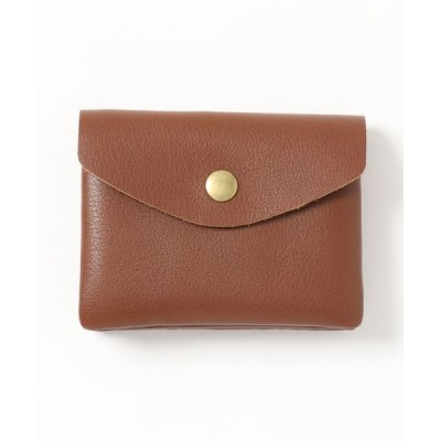 Fun & Daily / F&D : Cow Leather Double Pocket Card Case MEN 財布/小物 > カードケース