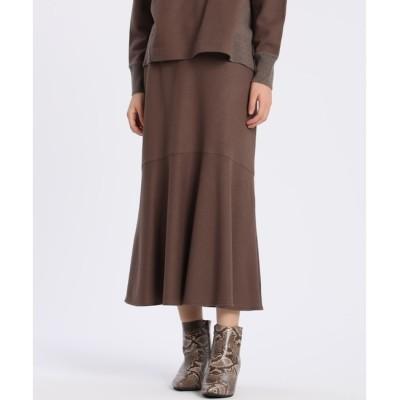 【スーペリアクローゼット/SUPERIOR CLOSET】 ウールジャージマーメイドスカート