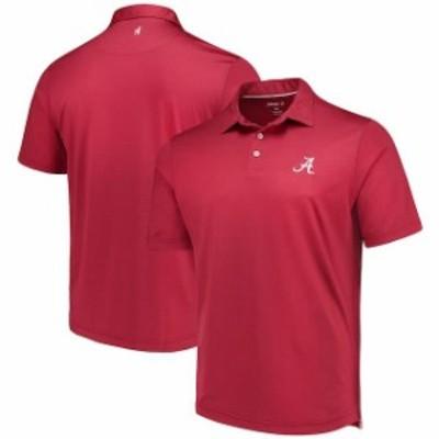 johnnie-O ジョニー オー スポーツ用品  johnnie-O Alabama Crimson Tide Crimson NCAA Birdie Polo