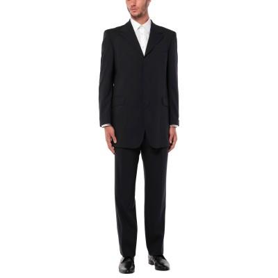 BOSS HUGO BOSS スーツ ダークブルー 52 バージンウール 100% スーツ