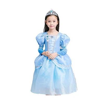 (フォーペンド)Forpend ドレス 子供 シンデレラ風 コスチューム ハロウィン クリスマス 子供服 ロングドレス ワンピース 誕生日