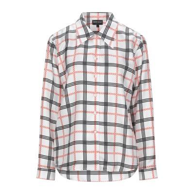 ジョルジオ アルマーニ GIORGIO ARMANI シャツ ホワイト 42 シルク(マルベリーシルク) 100% シャツ