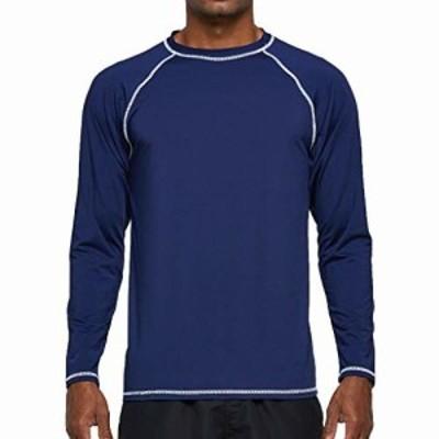Arcweg ラッシュガード 長袖 メンズ 水着 ウエットスーツ おしゃれ スポーツシャツ 吸汗速乾 かっこいい オーバーウェア UVカット UPF50+