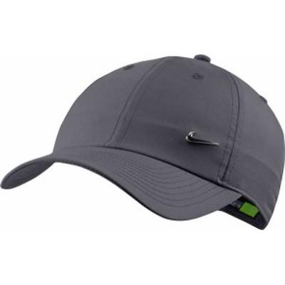 ナイキ メンズ 帽子 アクセサリー Nike Sportswear Heritage86 Hat Dark Grey