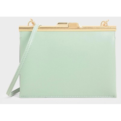 スクエアクラッチ / Square Clutch (Mint Green)