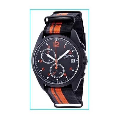 Hamilton Khaki Aviation Pilot Pioneer Chrono Quartz Men's Quartz Watch H76582933【並行輸入品】