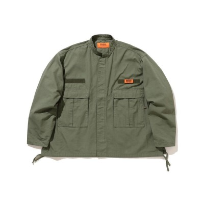 (BEAMS MEN/ビームス メン)UNIVERSAL OVERALL × BEAMS / 別注 Loose Military Jacket/メンズ OLIVE