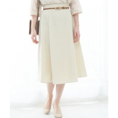 ROPE' PICNIC 【WEB限定】【2WAY】ベルト付きスカート(ベージュ(27))【返品不可商品】