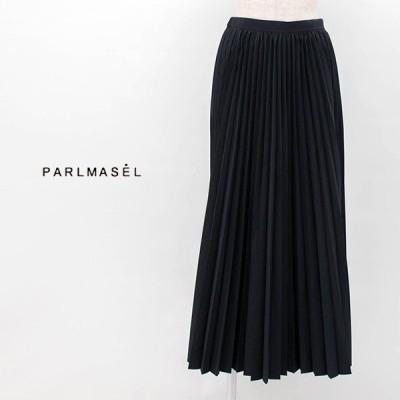(SALE 40%OFF)PARLMASEL パールマシェール レディース タスランタフタ アコーディオンプリーツスカート(L-9308)(2020SS)(返品交換不可)