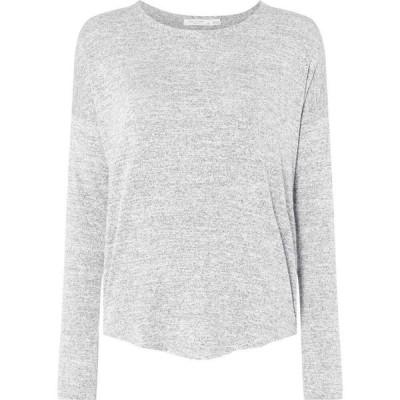 ラグ&ボーン Rag and Bone レディース 長袖Tシャツ トップス Hudson Long Sleeved T Shirt Light Grey