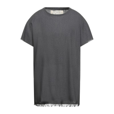 JAMES 0706 T シャツ 鉛色 44 ウール 100% T シャツ