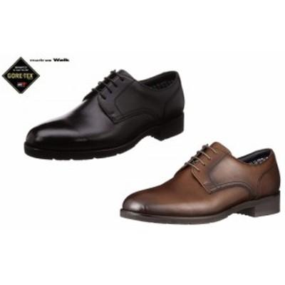 madras Walk/マドラスウォーク MW5641S ゴアテックス/フットウェア 防水 紳士靴 ビジネスシューズ (ブラック/ダークブラウン)4E