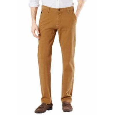 ドッカーズ メンズ カジュアルパンツ ボトムス Men's Ultimate Smart 360 Flex Slim Chino Pants DARK GINGER