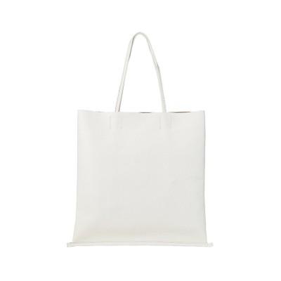 【カバンのセレクション】 ツールズ ホースピットT トートバッグ メンズ レディース 本革 縦型 A4 TOOLS 300t92h ユニセックス ホワイト フリー Bag&Luggage SELECTION