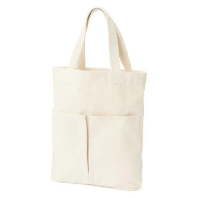 無印良品 インド綿縦型マイトートバッグ 生成 良品計画