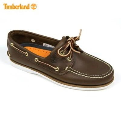 ティンバーランド Timberland 正規品 デッキシューズ CLASSIC BOAT SHOE 74035 ブラウン
