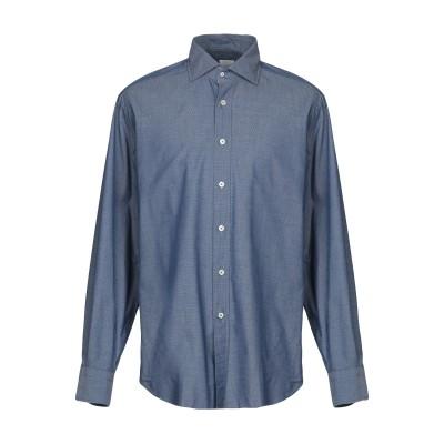 カリバン CALIBAN シャツ ブルーグレー 42 コットン 100% シャツ