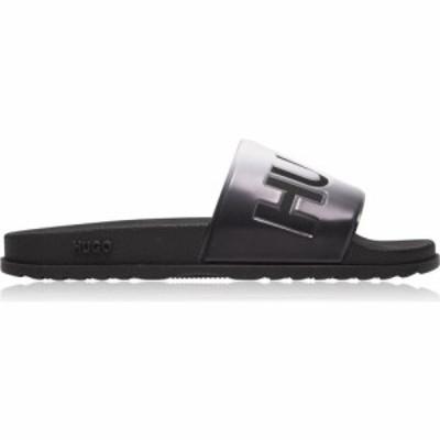ヒューゴ ボス HUGO メンズ サンダル シューズ・靴 Match Sliders Grey Fade