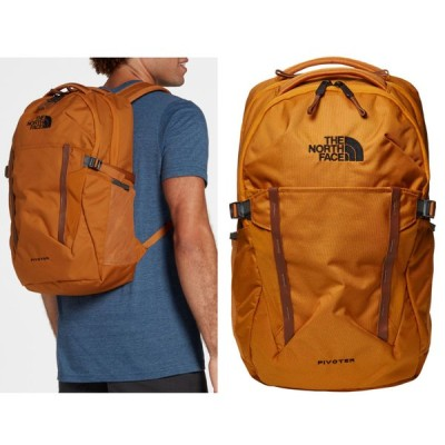 THE NORTH FACE ザ・ノースフェイス メンズ Pivoter Backpack バックパック リュック TIMBER TAN/TOFFEE BROWN A52SM