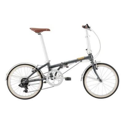 DAHON (ダホン) 2021 Boardwalk D7 ボードウォーク ヴィンテージブラック (142-193cm) 折りたたみ自転車