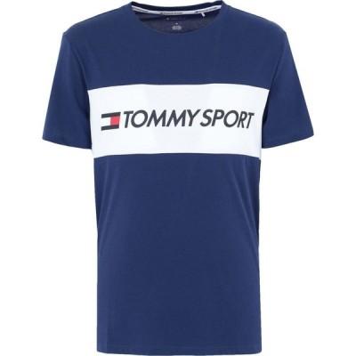 トミーヒルフィガー TOMMY SPORT メンズ Tシャツ トップス t-shirt Bright blue