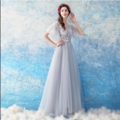 ブライダル 冠婚 ワンピース 大きいサイズ 結婚式 花嫁 二次会 パーティードレス プリンセスライン ウエディングドレス ロング丈 綺麗 き