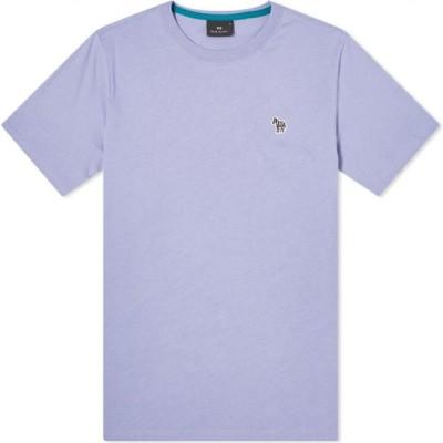 ポールスミス Paul Smith メンズ Tシャツ ロゴTシャツ トップス zebra logo tee Lilac