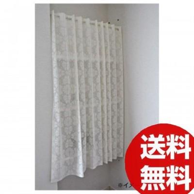 パタパタカーテン 29007 アイボリー 143×140cm
