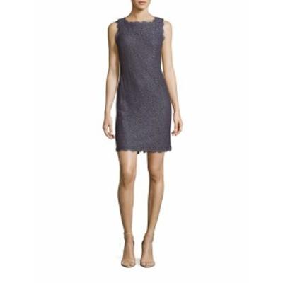 アドリアーナ パペル レディース ワンピース Sleeveless Lace Dress