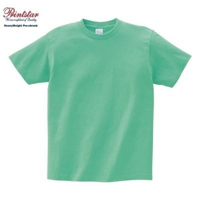 Printstar/プリントスター 00085 ヘビーウェイト Tシャツ026:ミントグリーン 100〜160cm S M L XL