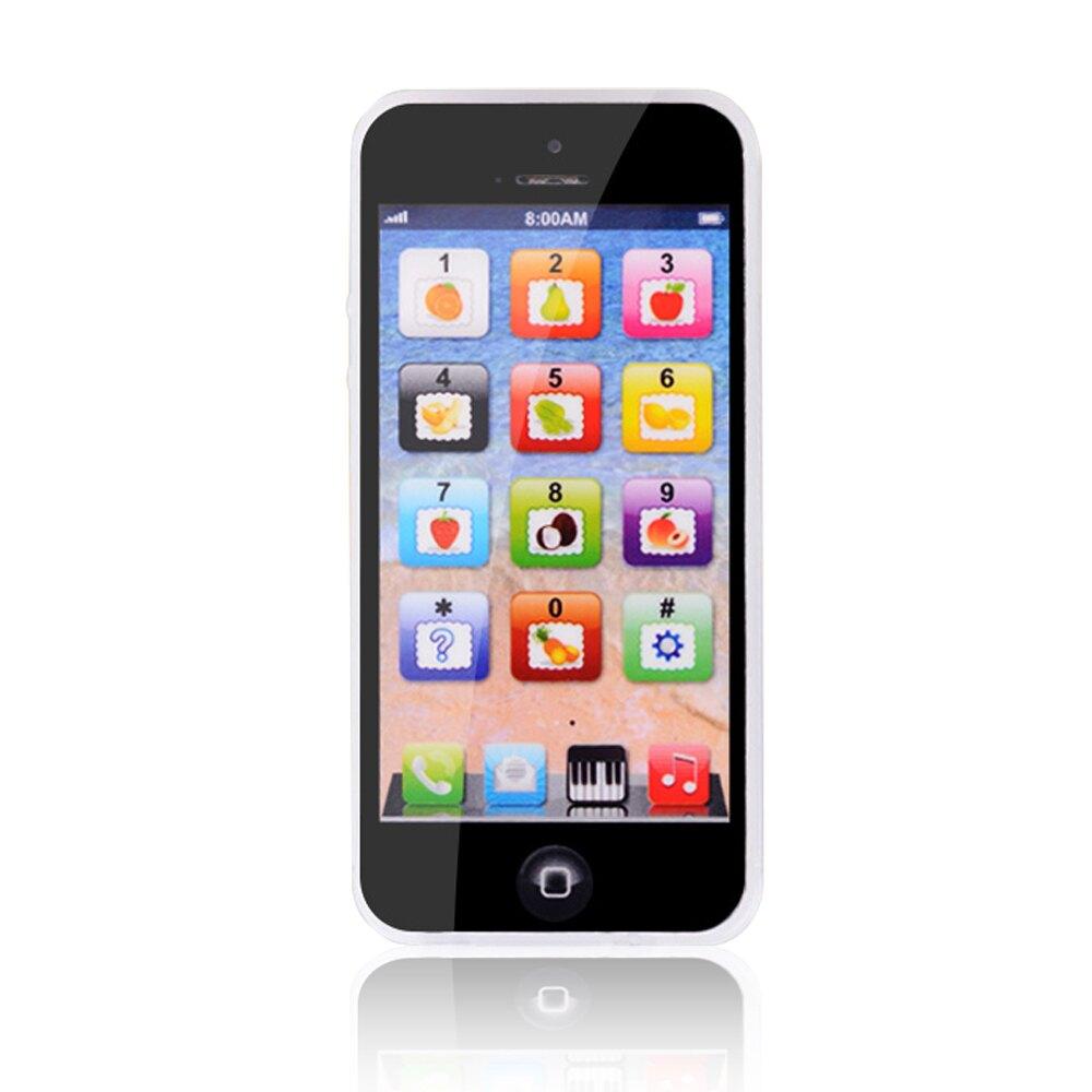 【滿額領卷折50】兒童音樂玩具手機 卡通玩具音樂燈光仿真學習手機-JoyBaby
