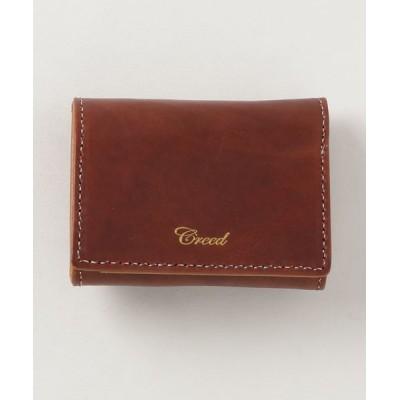 Creed / ITARY <イタリー> / 三つ折りウォレット MEN 財布/小物 > 財布