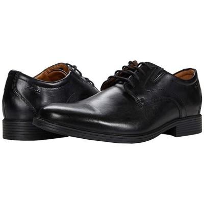 クラークス Whiddon Plain メンズ オックスフォード Black Leather