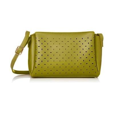 [エスポワール] 涼しげなパンチングデザインのショルダーバッグ【UTERIO-ウラリオ-】 82667 グリーン